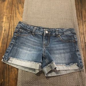 Celebrity Pink Jeans Denim Shorts Size 3